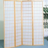 Four Panel Screen in Natural