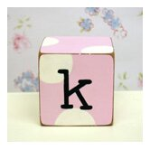&quot;k&quot; Letter Block in Pink