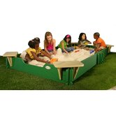 60&quot; x 120&quot; Sandbox with Cover