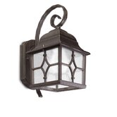 Hera Wall Lantern in Brown