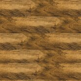 "Solidity 20 Century Plank 4"" Vinyl Plank in Distressed Walnut"