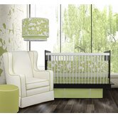 Modern Berries Bedding Collection in Spring Green