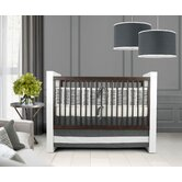 Sticks Crib Bedding Collection in Pewter