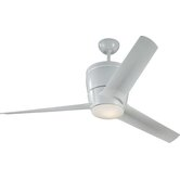 "52"" Vectra Max 3 Blade Ceiling Fan with Remote"