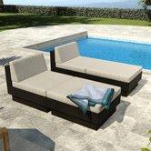 dCOR design Patio Chaise Lounges