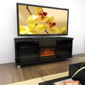 Holland 60&quot; TV Stand with Electric Fireplace