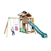 Playtime Swing Sets Wood Swing Sets