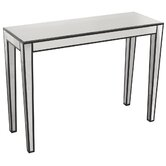 Modal Simple Mirrored Console Table