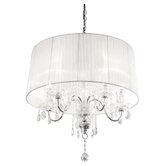 Beaumont Five Light Chandelier in Chrome