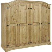 Corona 4 Door Wardrobe