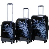 Bangkok Expandable Hardsided 3 Piece Spinner Luggage Set