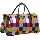 Soho 21&quot; 2 Wheeled Carry-On Duffel