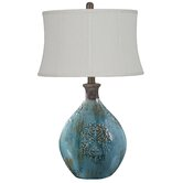 "Linnet 29.5"" H Table Lamp with Bell Shade"