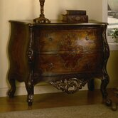 Hand Painted Antique Chest in Brown