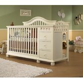 Cape Cod 4-in-1 Convertible Crib N Changer Combo