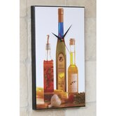 Oil and Vinegar Wall Clock