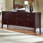 Avalon 9 Drawer High Dresser