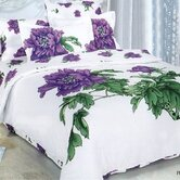 Peony 6 Piece Duvet Cover Bedding Set