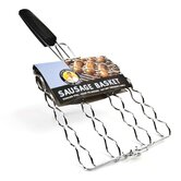 Steven Raichlen Stainless Adjustable Sausage Basket