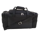 "19.5"" Small Leather Carry-On Duffel"