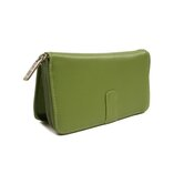 Women's Zip Around Wallet in Apple