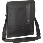 "13.3"" Radius Vertical Messenger Bag in Black"