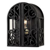Sevilla Indoor/Outdoor Wall Sconce in Rust