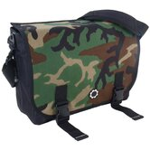 Camoflage Woodland Camo Messenger Bag