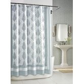 Roma Shower Curtain in Seafoam