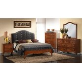 Auckland Queen Panel 5 Piece Bedroom Collection