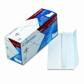 Self-Seal Business Envelopes w/Privacy Tint; #10, White, 100/box