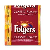 (42 per Carton) Folgers Classic Roast, Regular, 1.5 oz.