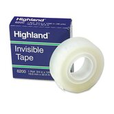 "Invisible Permanent Mending Tape, 3/4"" X 1296"", 1"" Core"