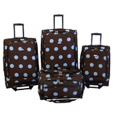 Grande Dots 4 Piece Luggage Set
