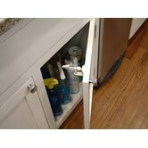 Safety Drawer and Cabinet Latch in White (4 pack)