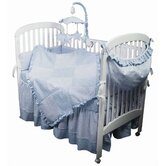 Crib Bedding Collection in Sherbert Blue