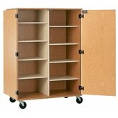 Encore Storage Cabinet with 8 Adjustable Shelves