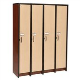 "60"" H Four Unit Laminate Locker"