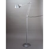 Studio  Floor lamp in Matt Silver