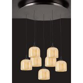 Cuttle 7 Light Mini Pendant