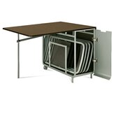 Loft Extendible Rectangular Folding Dining Table