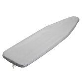 Silicone Coated Ironing Board Cover with Pad in Silver (2 Pack)