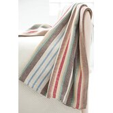 Woven Ranch Stripe Cotton Throw