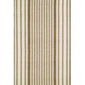 Woven Chocolate Ticking Rug