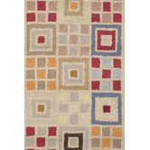 Hooked Vintage Boxes Rug