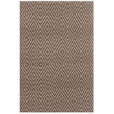 Woven Diamond Charcoal/Taupe Rug