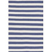 Trimaran Denim/Ivory Striped Rug