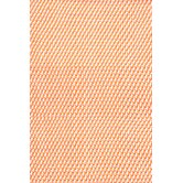 Two Tone Tangerine/White Rope Rug