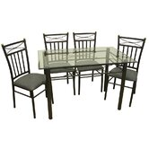 Palermo 5 Piece Dining Set