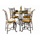 Excalibur 5 Piece Counter Height Dining Set